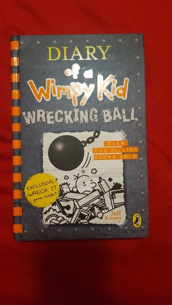 Used Dairy Of Wimpy Kid WRECKING BALL in Dubai, UAE
