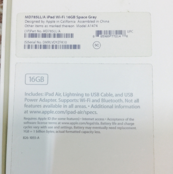 Used I PAD Air 16GB in a very good condition  in Dubai, UAE