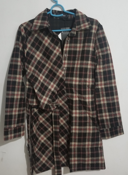 Used Ladies winter scotch dress. Size S in Dubai, UAE