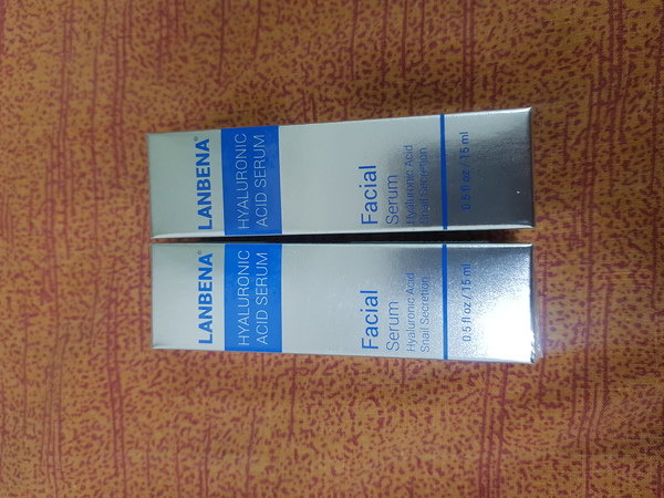 Used Hyaluronic acid skin repair essenee box in Dubai, UAE