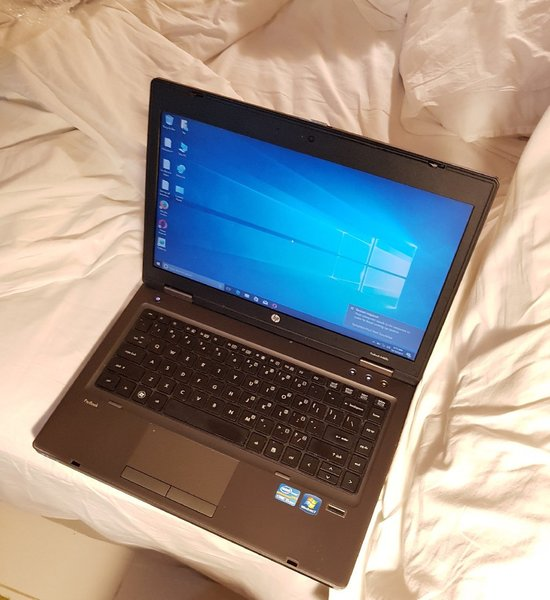 "Used HP Probook Corei5 4GB 320GB DVD RW 14.1"" in Dubai, UAE"
