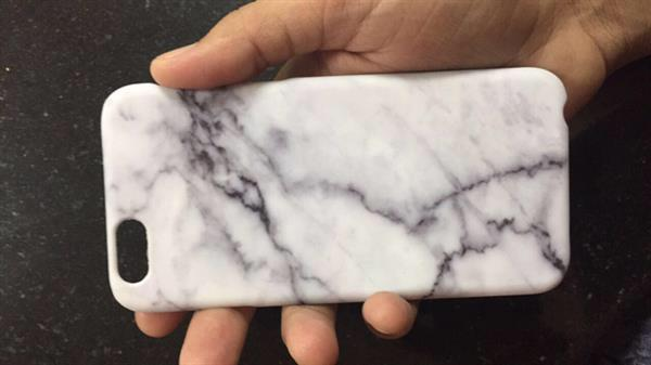 Used #Iphone6 Cover #marblecase #never Used #case #cover #iphone in Dubai, UAE