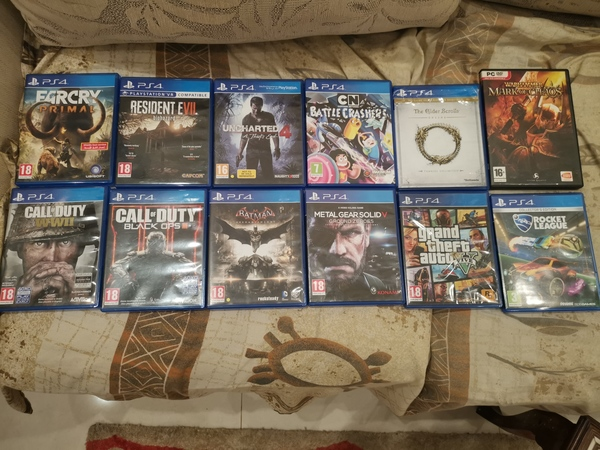 Used Ps 4 playstation 4 games in Dubai, UAE