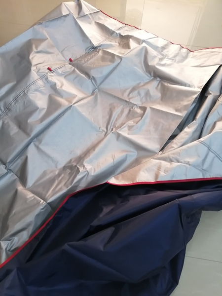 Used NAVY CAR COVERS 7 PIECES in Dubai, UAE