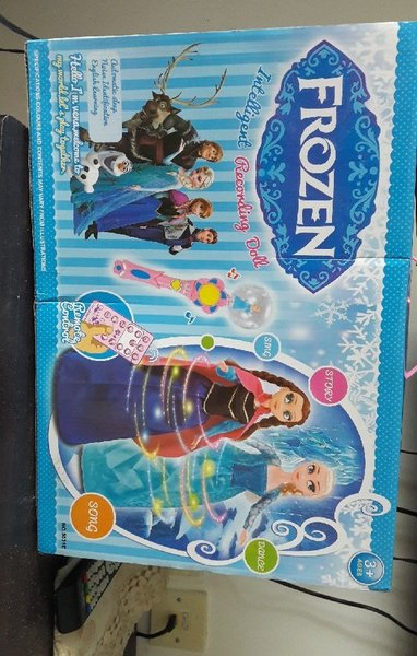 Used New Frozen Intelligent Recording Doll in Dubai, UAE