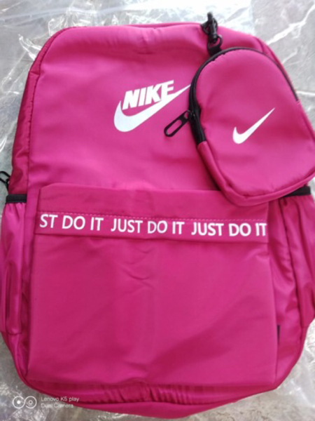 Used Nike bagpack pink in Dubai, UAE