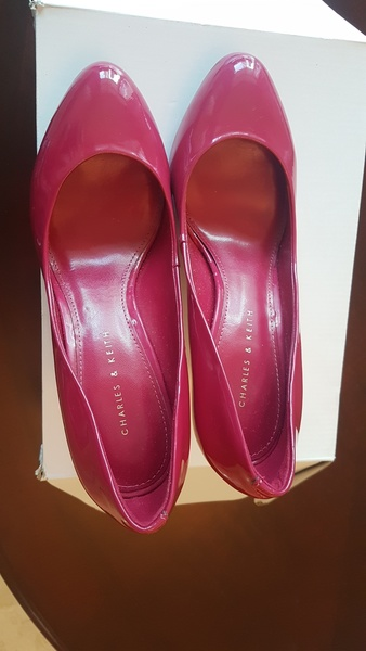 Used Charles and Keith Heels size 38 in Dubai, UAE