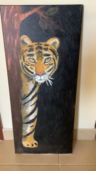 Used A tiger painting  in Dubai, UAE
