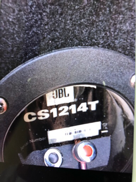 Used JBL woofer with Sony amplifier  in Dubai, UAE
