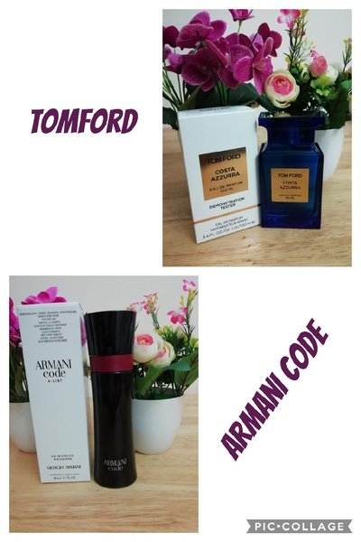 Used Armani code and tomford bundle in Dubai, UAE
