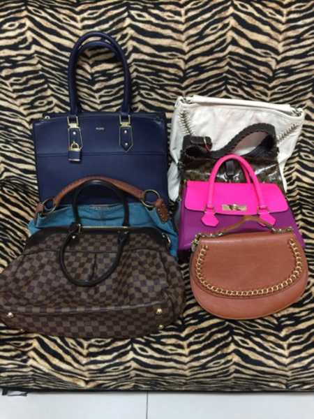 Used Bundle offer 7 pcs Preloved Bags, in Dubai, UAE