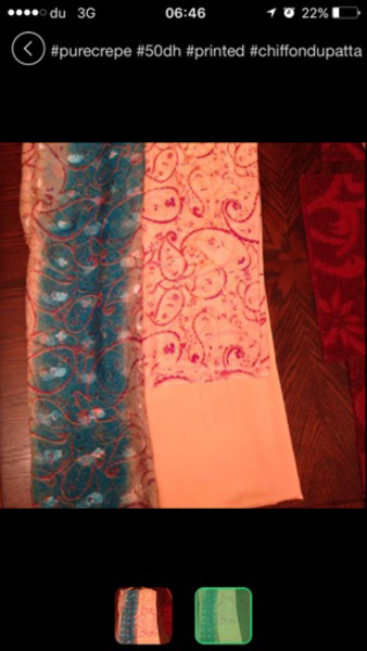 Used Dress material kurta Salwar dupatta in Dubai, UAE
