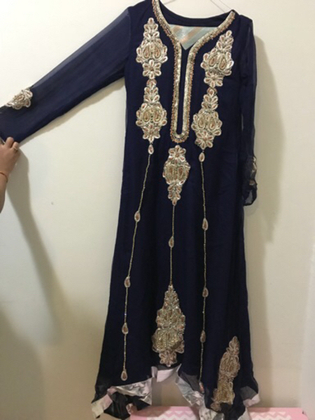 Used Brand New embriodered Designer wear. in Dubai, UAE
