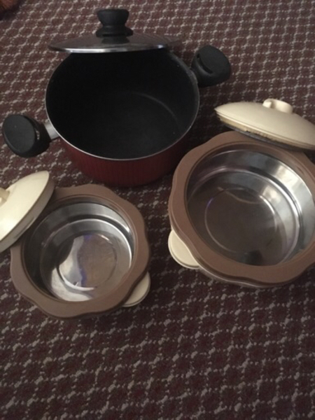 Used Hot pot 2 and 1 pot in Dubai, UAE