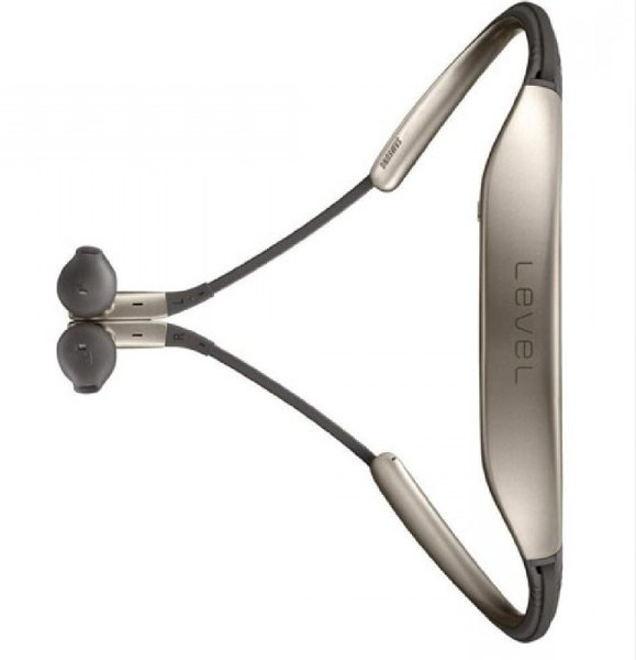 Used Level U Bluetooth In-Ear Headset Gold in Dubai, UAE