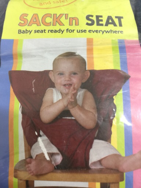 Used baby safety seat harness in Dubai, UAE