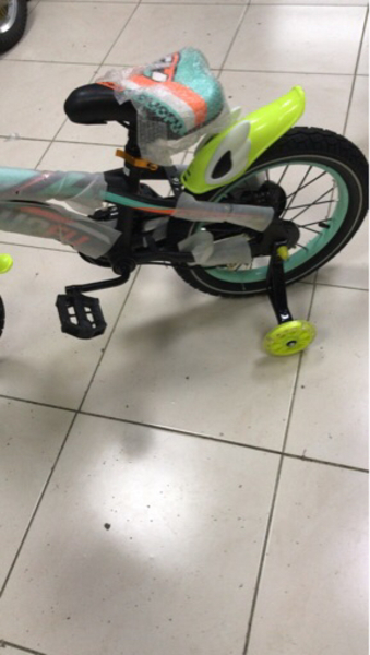 """Used New 16"""" bicycle for kids (Heavy duty) in Dubai, UAE"""