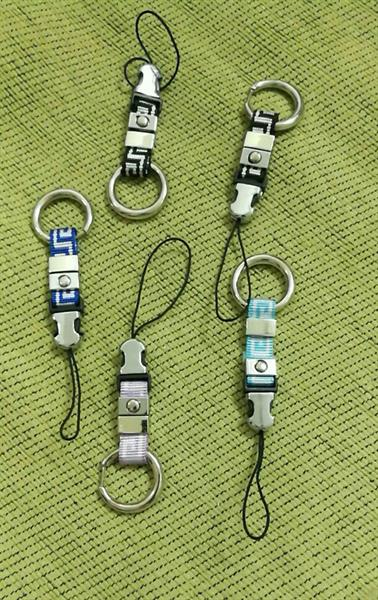 Used 5 Pc Assorted Key Ring With Mobile Holder in Dubai, UAE