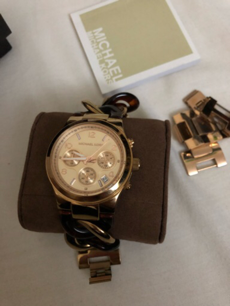 Used Original Michael Kors Watch Two-tone in Dubai, UAE