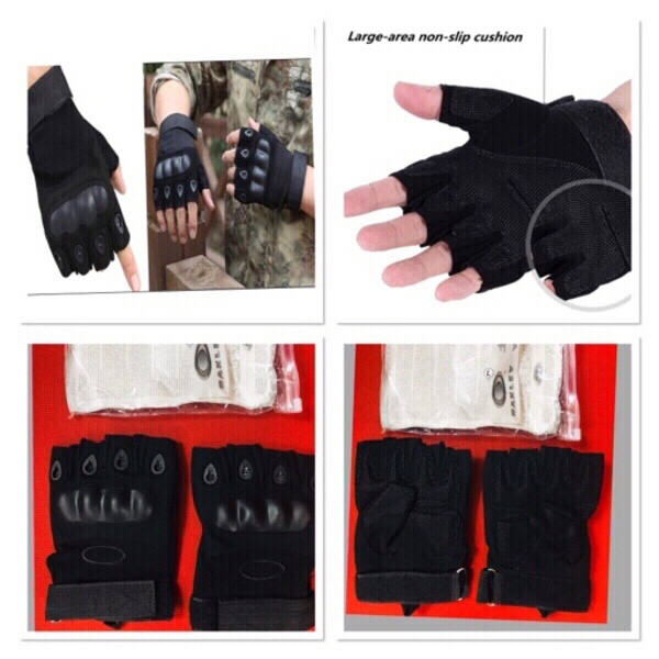 Used Oakley half finger tactical Gloves ❤️ in Dubai, UAE