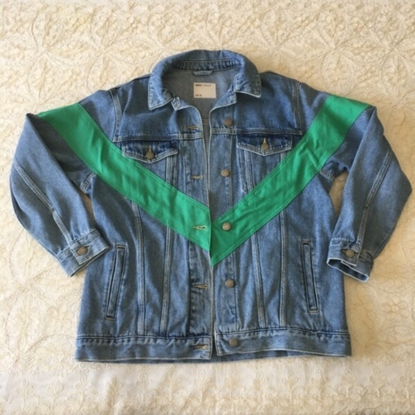 Used ASOS denim jacket (size 12UK) in Dubai, UAE
