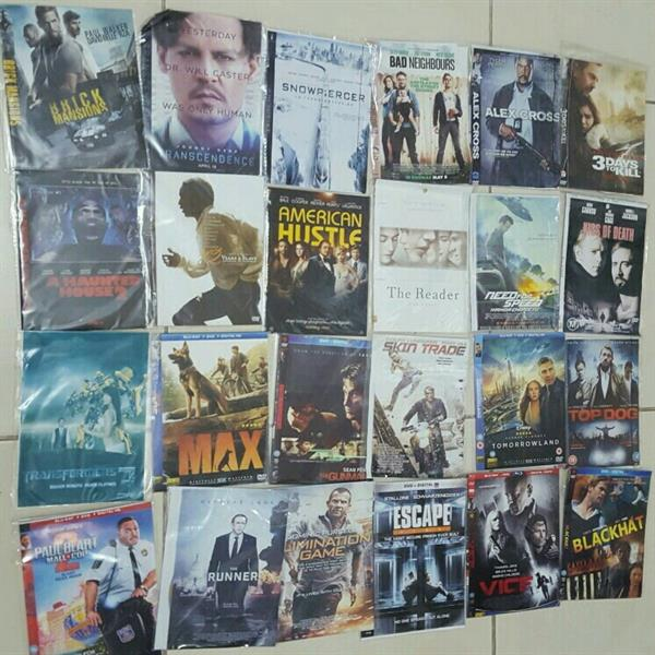 72 DVDs Latest Best Movies