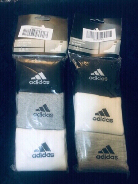 Used Adidas socks 🧦 6pairs in Dubai, UAE