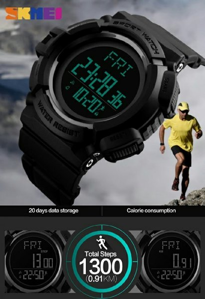 Used Fitnesw Tracker3D Pedometer Sports Watch in Dubai, UAE