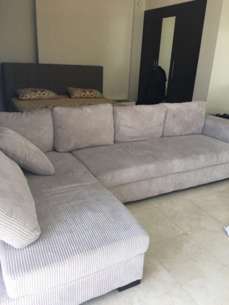 Used REDUCED Sofa L Shape Very good condi  in Dubai, UAE