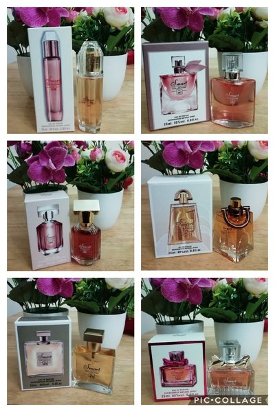 Used 6pcs of 25ml smart collection perfume in Dubai, UAE
