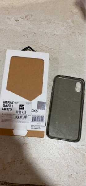 Used iPhone X/XS Case ( UniQ Airfender  ) in Dubai, UAE