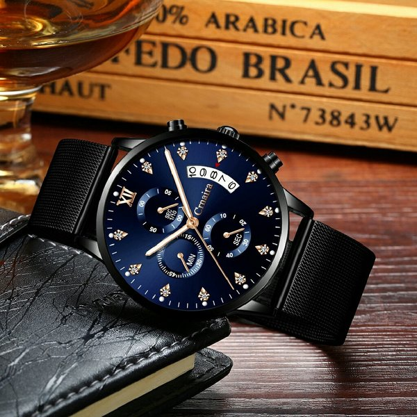 Used Crmaira Quartz Water Resistant Watch in Dubai, UAE