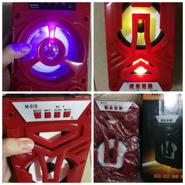 Used High sound red nice speaker in Dubai, UAE