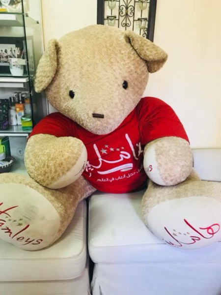 Used Mall sized Hamleys Teady Bear in Dubai, UAE