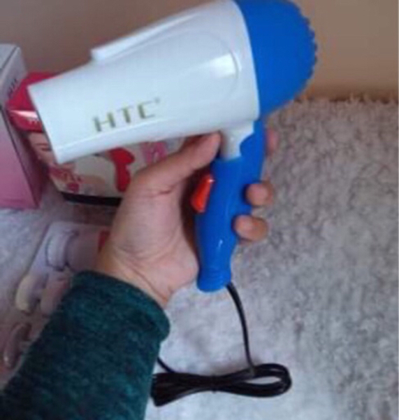 Used HTC Hair Dryer & Manual Facial Massager in Dubai, UAE