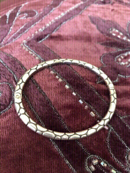 Used Bangle+anklets+ toe rings-heart necklace in Dubai, UAE