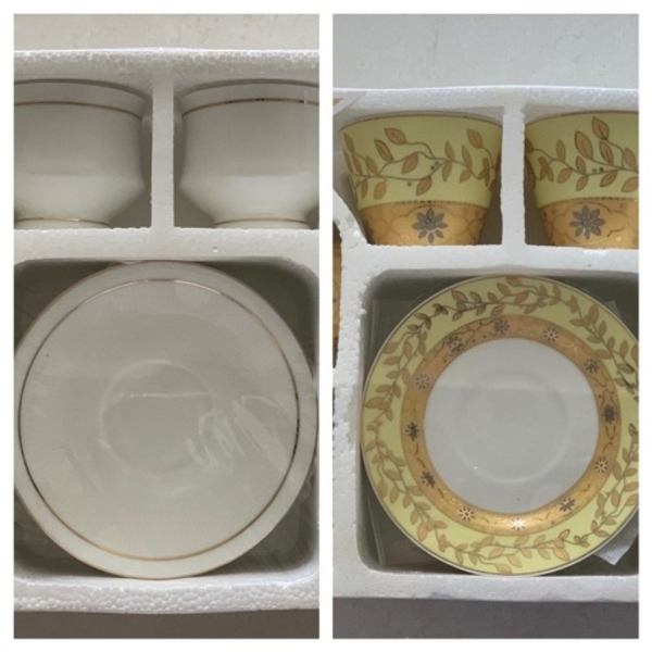 Used 2 New 6 Cups & Saucer Sets in Dubai, UAE