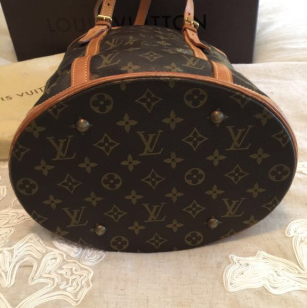Used Pre-owned Authentic Louis Vuitton Bucket GM Monogram Shoulder Bag Bag!  in Dubai 936f74ca6