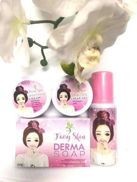 Used FAIRY SKIN DERMA SET 1PC in Dubai, UAE