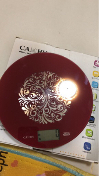 Used Camry electronic kitchen scale  in Dubai, UAE
