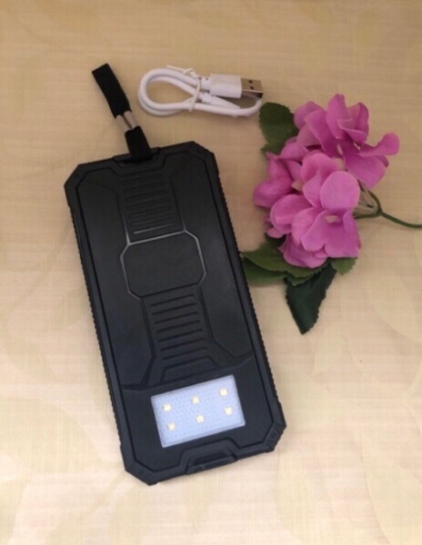 Used NEW Solar Mobile Power Bank 12000MAH in Dubai, UAE