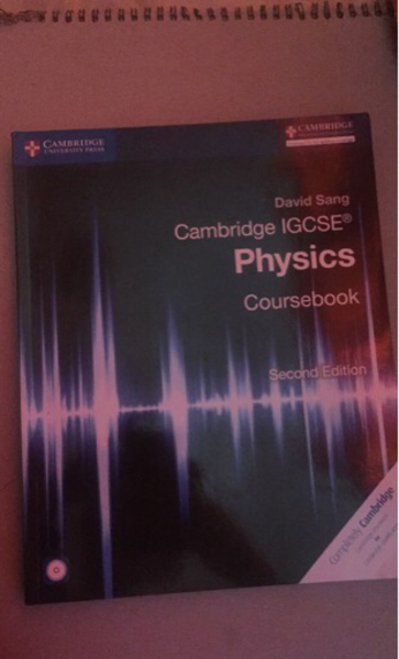 Used PHYSICS IGCSE BOOK in Dubai, UAE