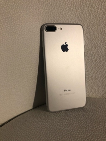 Used iPhone 7 Plus 128 Gb silver in Dubai, UAE