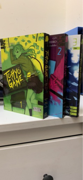 Used 3 tohyo game mangas (scary/mystery) in Dubai, UAE