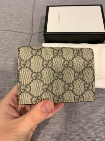 Used Authentic mini Gucci wallet with patch in Dubai, UAE