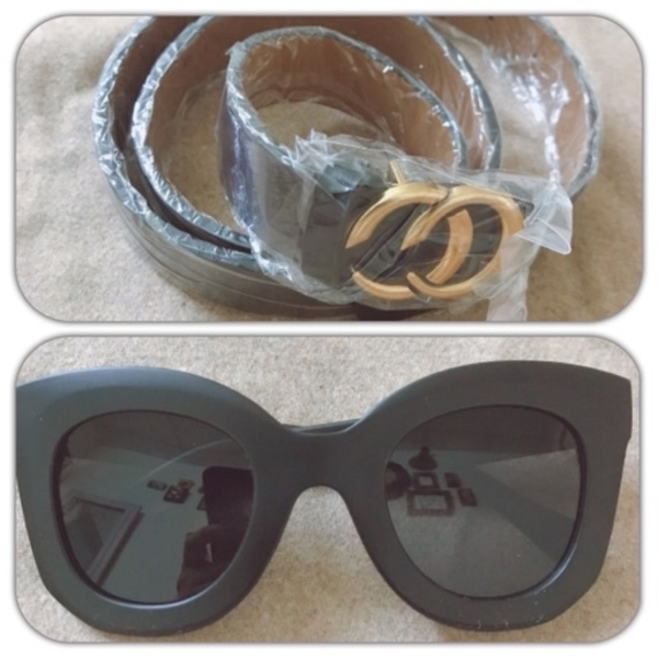 Used Gents belt & sun glasses in Dubai, UAE