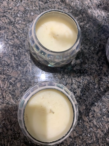 Used Round Silver candles in Dubai, UAE