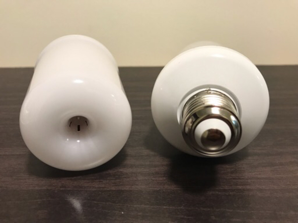 Used NEW 2Pcs LED Flame Bulb in Dubai, UAE