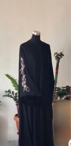 Used Sleeves Embroidery Abaya in Dubai, UAE