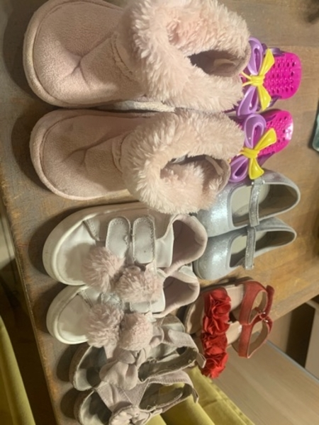 Used Baby shoes size 21-23 all together in Dubai, UAE